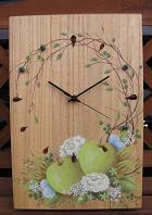アオリンゴ時計