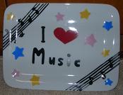 musicお皿
