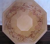 木の実菓子皿