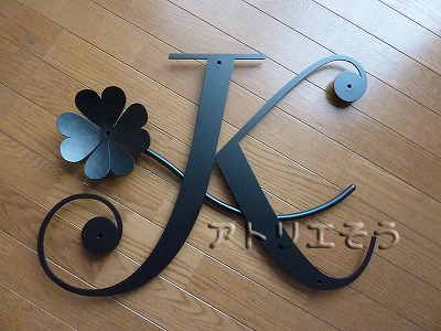 K+クローバー妻飾り