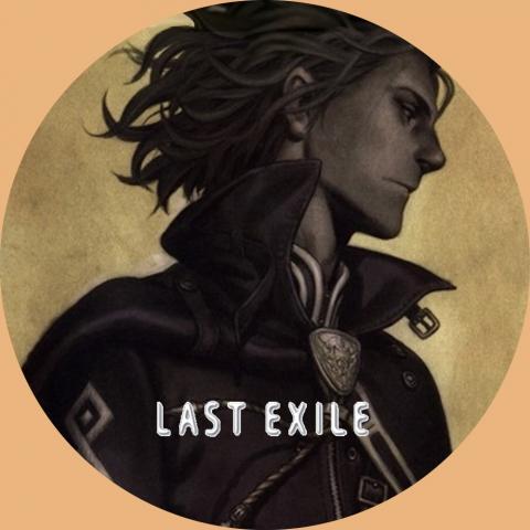 (自作DVDラベル) ラストエグザイル (LAST EXILE) 03