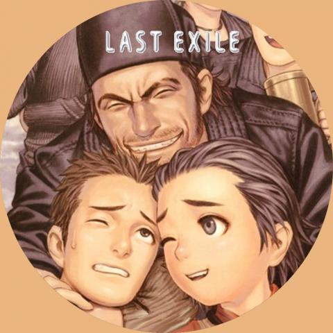 (自作DVDラベル) ラストエグザイル (LAST EXILE) 10