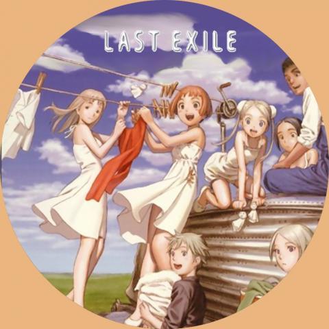 (自作DVDラベル) ラストエグザイル (LAST EXILE) 13