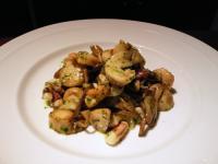 貝の炒め物