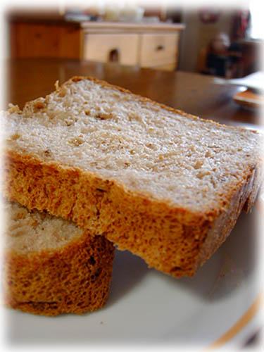 イチヂクとくるみ食パン1