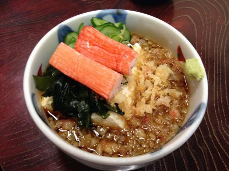 タヌキ豆腐