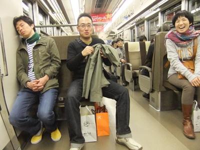 電車の中のひとコマ