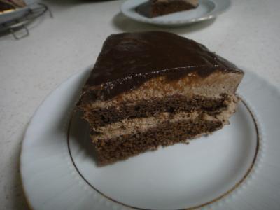 2011_0203_チョコケーキ カット