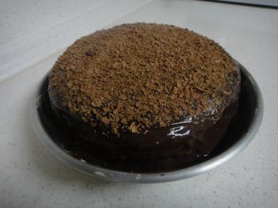 2011_0214_チョコケーキ