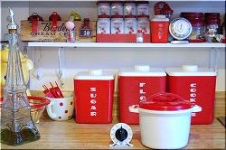 kitchen red