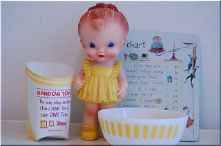 rubber doll yellow
