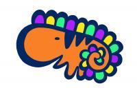 恐竜オレンジ