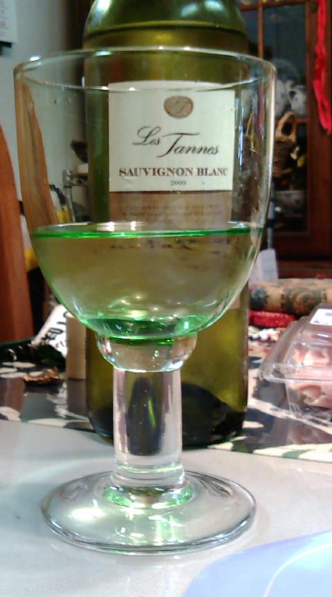 飲んだ白ワイン