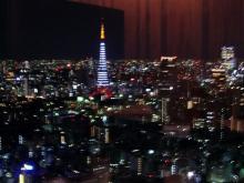スローライフ日記 (ガンとの闘病日記はもうすぐ終わりにします)-東京タワー夜景