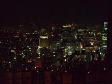 ゴエモンのブログ-汐留のバーからの夜景