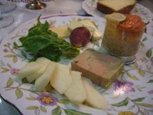 スローライフ日記 (ガンとの闘病日記はもうすぐ終わりにします)-フォアグラと前菜