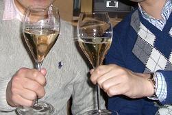 ゴエモンのブログ-最初の乾杯