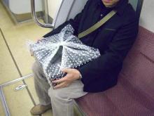 スローライフ日記-電車でおせちを取りに