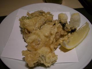 スローライフ日記-牡蠣の天ぷら