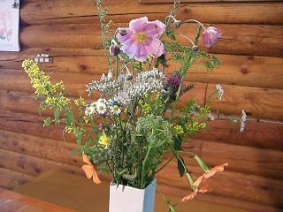 スローライフ日記-結婚記念日の花束