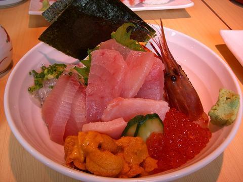 スローライフ日記-スペシャル海鮮丼