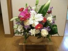 スローライフ日記 (ガンとの闘病日記はもうすぐ終わりにします)-購入したお花