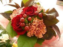 スローライフ日記 (ガンとの闘病日記はもうすぐ終わりにします)-KANAちゃんからのお花(入院中)