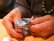 スローライフ日記 (ガンとの闘病日記はもうすぐ終わりにします)-私のあげた腕時計