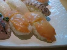 スローライフ日記 (ガンとの闘病日記はもうすぐ終わりにします)-貝の握り寿司