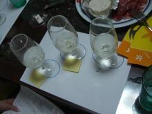 スローライフ日記 (癌との闘病日記はもうすぐ終わりにします)-白ワインのテイスティング