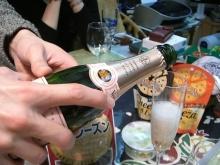 スローライフ日記-シャンパンをいただく