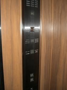 スローライフ日記-エレベータのボタン