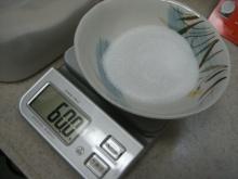 東京でプチスローライフ-砂糖を60g