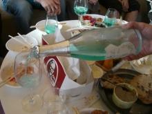 東京でプチスローライフ-乾杯の準備