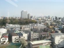 東京でプチスローライフ-風呂からの景色