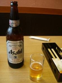 東京でプチスローライフ-瓶ビール