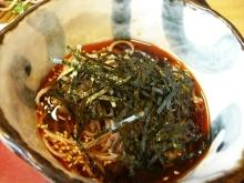 東京でプチスローライフ-私の肉そばいただきま~す
