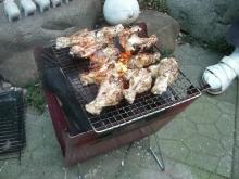 東京でプチスローライフ-チキン焼けてきました