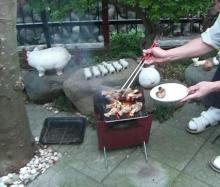 東京でプチスローライフ-チキン焼けました!