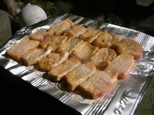 東京でプチスローライフ-豚肉焼けてきた!