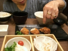東京でプチスローライフ-1個ずつ説明して食べなさいという祖母