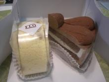 東京でプチスローライフ-食後のケーキ
