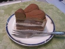 東京でプチスローライフ-好きなチョコケーキをもらう