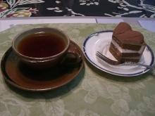 東京でプチスローライフ-紅茶と一緒にいただく