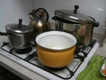 東京でプチスローライフ-鍋の選択