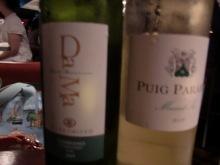 ログハウスでワインを楽しむスローライフ日記-2本の白ワインで悩む