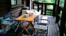 ログハウスでワインを楽しむスローライフ日記-20100828092457.jpg
