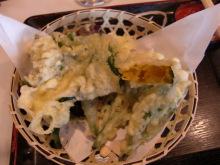 ログハウスでワインを楽しむスローライフ日記-つる梅のカボチャの天ぷら