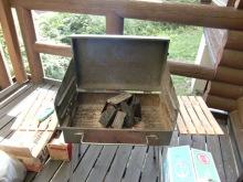 ログハウスでワインを楽しむスローライフ日記-BBQの火起こし