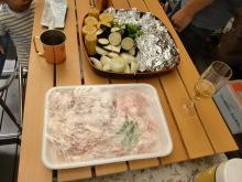 ログハウスでワインを楽しむスローライフ日記-お肉たち